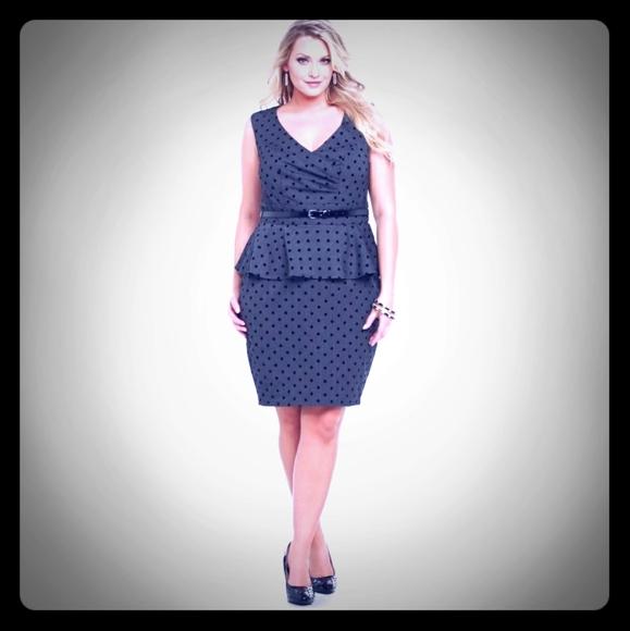 torrid Dresses & Skirts - Torrid size 24 polka dot dress